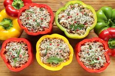 Nutrisystem provides a simple and delicious recipe for stuffed bell peppers.