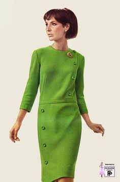 Retro fashion pictures from the and Look Fashion, Retro Fashion, Trendy Fashion, Vintage Fashion, Womens Fashion, Fashion Design, 1960s Fashion Women, Fashion 2018, Vintage Dresses 1960s