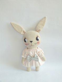 love this bunny! :: cloth & thread