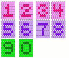 Bead 123 - Numbers