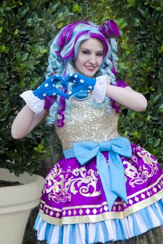 Ever After High Madeline Hatter Cosplay by dolly brie on Tumblr