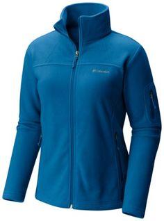 Columbia Women's Fast Trek II Full Zip Fleece Jacket Plus Sizes