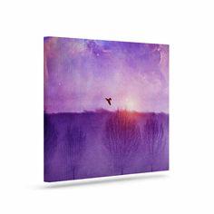"Viviana Gonzalez ""Orion Nebula"" Purple Blue Canvas Art"
