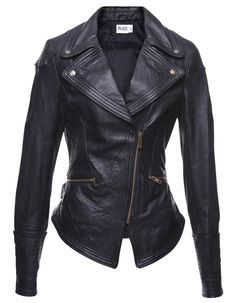 Sandrine Leather Jacket - - Alice By Temperley