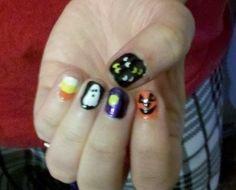Halloween nails 2013
