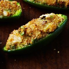 Healthy/Clean-Eating friendly Cheddar Cornbread Jalapeno Poppers, via Clean Eating Magazine Jalapeno Popper Recipes, Jalapeno Poppers, Jalapeno Cheddar, Clean Eating Recipes, Healthy Eating, Healthy Recipes, Eating Clean, Healthy Menu, Diet Recipes