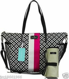 The only diaper bag I've fallen in love with :( of course it's not a 30$ dollar diaper bag, that just wouldn't be my luck lol kate spade you kill me :/