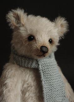 Bears Dolls & Bears Humble Handmade Artist Crochet Brown Teddy Bear Choice Materials