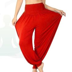 668bec15f97b3 Women Comfy Harem Loose Long Pants Belly Dance Casual Boho Wide Trousers(more  beautiful color are available now)
