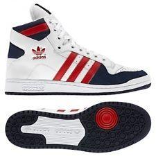 Adidas Originals Mens DECADE OG MID (V22902) White Trainer Leather ALL SIZES