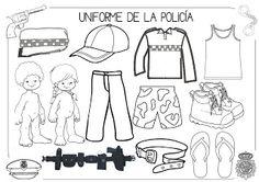 Mi grimorio escolar: EL UNIFORME DE LOS POLICÍAS