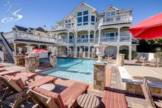 """Time to start digging your """"Heels in the Sand"""" and spend your Corolla vacation at this exquisite oceanfront mansion. 9 bedrooms, 10.3 bathrooms, Select weeks from May to July have been discounted for up to $4,000 off!"""