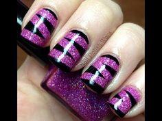 diy nail designs | nail-art-design-video-long-short-nails-easy-nail-polish-designs-no-diy ...