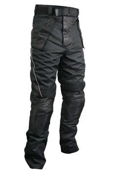 <b>Xelement Men's Tri-Tex Fabric and Leather Motorcycle Racing Pants with Level-3 Advanced Armor</b><br><br>Xelement presents the Men's Tri-Tex and Leather Motorcycle Racing Pants with removable knee and shin CE Approved Level-3 Armor <b>(New Level Of Protection by Level-3 Armor, Lighter Weight, Less Bulky, Level-3 Armor provides Highest CE Approved Protection, Ergonomic Design, Higher Impact Absorption, Free Movement).</b> Made of Tri-Tex Fabric <b>600 Denier High Performance Breathable…