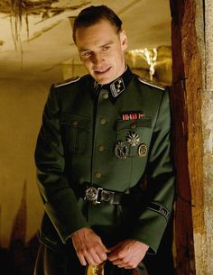 Michael as Lieutenant Archie Hicox in Inglorious Basterds (2009)
