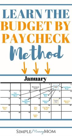 How to Budget by Paycheck and Finally Gain Control of Your Money - Finance tips, saving money, budgeting planner Ways To Save Money, Money Tips, Money Saving Tips, Money Budget, Money Hacks, Best Saving Plan, Groceries Budget, Cheque, Financial Peace