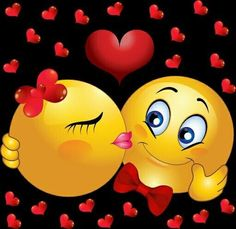 quenalbertini: Smiley kisses and love! Beautiful Love Pictures, Love Images, Smiley Emoticon, Smiley Faces, Bisous Gif, Naughty Emoji, Emotion Faces, Kissy Face, Smileys