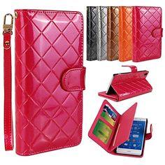 Sony Xperia Z3 - PU Leather/Annet - Heldekkende etuier/Etuier med stativ/Annet - Gittermønster/Special Design/Annet – NOK kr. 175