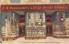 The first British Woolworth store in Church Street, Liverpool opened on 5 November Its 'Nothing over Sixpence' formula proved unbeatable. Liverpool Town, Liverpool History, Liverpool England, A Thousand Years, Old Pictures, Old Photos, Old Gas Stations, Shop Fronts, Southport