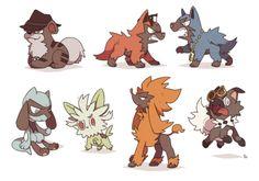 Dog Pokemon as the evil teams