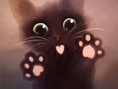 ImageFind images and videos about cute, cat and kawaii on We Heart It - the app to get lost in what you love. Cute Kittens, Cats And Kittens, Cats Bus, Cute Baby Animals, Animals And Pets, Chat Kawaii, Kawaii Cat, Cute Animal Drawings, Anime Animals