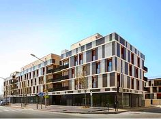 Gelin-Lafon Architects' Affordable Mixed-Use Housing Project Is a Little Social Utopia