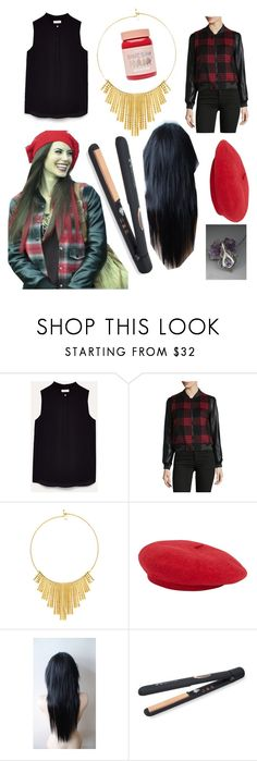 """""""Ruby"""" by lola-evergreen ❤ liked on Polyvore featuring Once Upon a Time, BLANKNYC, BERRICLE, Sutra and Lime Crime"""
