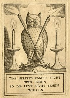 Owl motif from Khunrath's Amphitheatre of Eternal Wisdom, 1609The owl motif that we use as our avatar on social media is from Heinrich Khunrath's The Amphitheatre of Eternal Wisdom, printed in 1609 in Hanau and located in the Young Collection. Khunrath was a physician and Hermetic alchemist. The Amphitheatre is a fascinating volume containing nine plates of incredibly detailed engravings, each one representing a different aspect or stage to Khunrath's alchemical work. For detailed analysis…