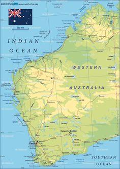 Karratha Western Australia Travel Australia Pinterest - Map of western australia
