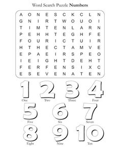 Puzzles For Kids Number Worksheets English Activities For Kids, English Worksheets For Kids, English Lessons For Kids, Kids English, Learn English, Spanish Lessons, Learn French, French Lessons, Word Puzzles For Kids
