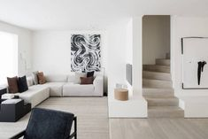 DRD Apartment is a minimal apartment located in Knokke, Belgium, designed by Vincent Van Duysen. Small Living, Living Area, Living Spaces, Santa Ines, Minimal Apartment, Milan Apartment, Vincent Van Duysen, Interior Architecture, Interior Design