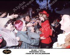 Princess Diana in Wales, October 27, 1981