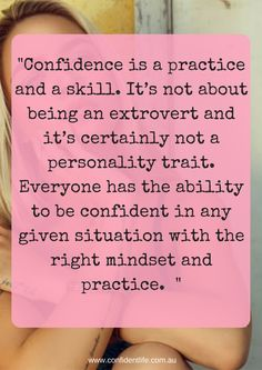 Kim understands women and what it takes to be confident: Practice! Read more about this wonderful lady and her feature for the Confident Women series :)  http://confidentlife.com.au/confident-women-kim-stone/