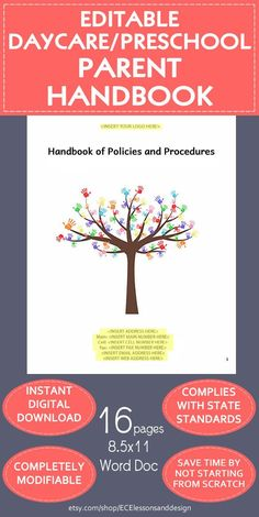 Download Himama S Free Family Amp Parent Handbook Template