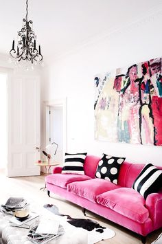 gimme the pink sofa