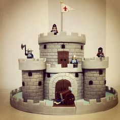 Castle cake - Cake by Bella's Bakery                                                                                                                                                                                 More