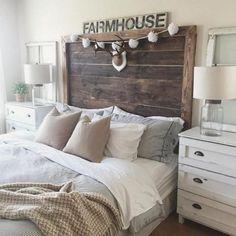Gorgeous Farmhouse Master Bedroom Ideas