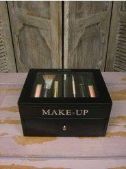 Riverdale Make up box zwart 25 cm