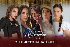 Premios TVyNovelas 2017 Ganadores: Mejor Actriz Protagónica, Angelique Boyer