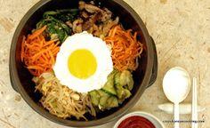 Classic Dolsot Stone Bibimbap. See recipe at: http://crazykoreancooking.com/recipe/bibimbap-dolsot-bibimbap-or-bibimbop #koreanfood #koreanrecipe #koreancooking #bibimbap