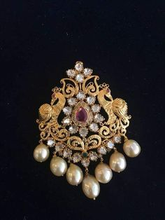 Gold Jewelry for any purpose Gold Earrings Designs, Gold Jewellery Design, Gold Jewelry, Beaded Jewelry, Jewelery, Tika Jewelry, Pendant Jewelry, Simple Jewelry, Pendant Design