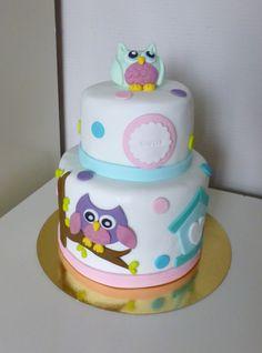 Owl cake - Gâteau hibou