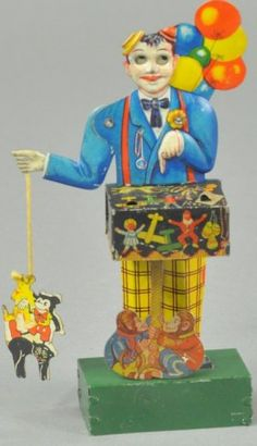 *KELLERMANN BALLOON VENDOR : Lot 272