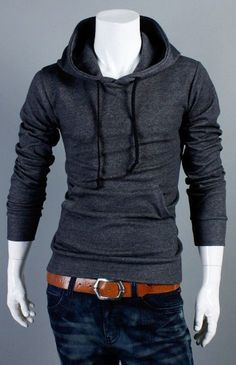 Mens Hoodies Sweatshirts Fashion Stylish Fitted Casual Designer Trend Mens Sweatshirts #MS051-in Hoodies & Sweatshirts from Apparel & Accessories on Aliexpress.com