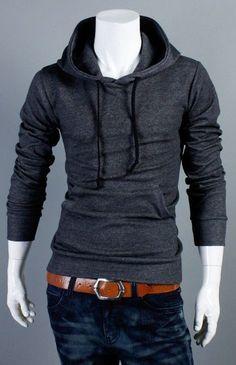 Mens Hoodies Sweatshirts Fashion Stylish Fitted Casual Designer Trend Mens Sweatshirts #MS051-in Hoodies & Sweatshirts from Apparel & Accessories on Aliexpress.com