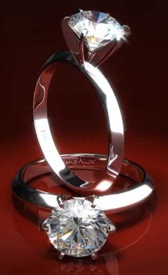 A Six Prong Knife-Edge version of the original 1886 'Tiffany-style' diamond solitaire engagement ring.