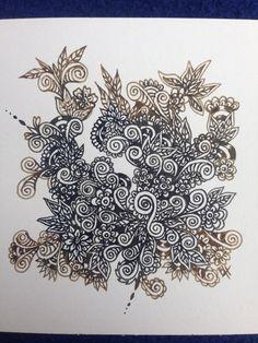 Doodle  Silberstreif