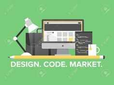 Flat Design Style Modern Vector Illustration Concept Of Web ...