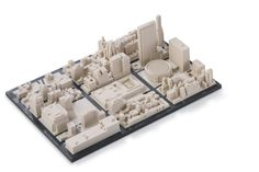 #3DPrinted #3DPrinting #Architecture #City #Model
