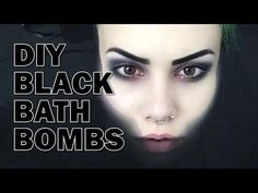 Black Bath Bomb – DIY Bath Bomb